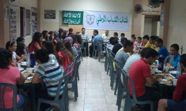 إفطار كشاف الشباب الوطني في طرابلس المصري