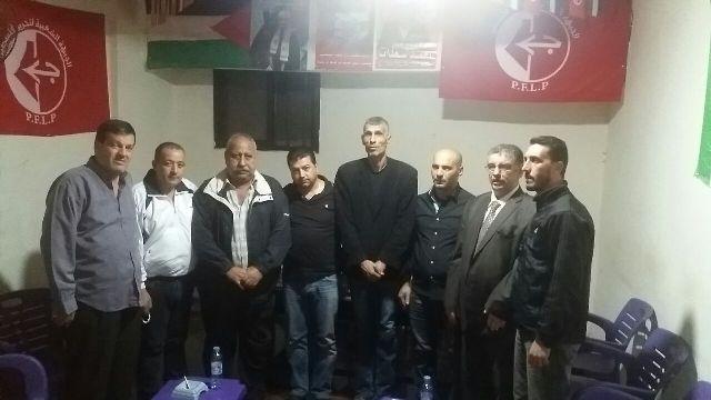 لقاء بين قيادتي الجبهة الشعبية وجبهة النضال الشعبي في مخيم نهر البارد