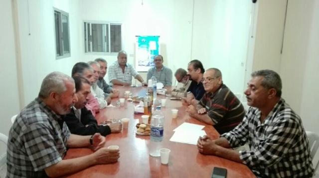 حركة فتح تزور الجبهة الشعبية في الشمال .