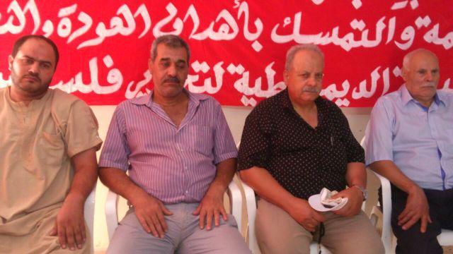 نهر البارد: تأبين الراحل خالد محمود خضر. محمد صالح الموعد