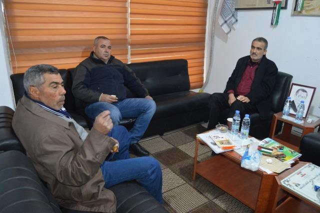 وفد من الجبهة الشعبية لتحرير فلسطين زار  موقع  هلا صور