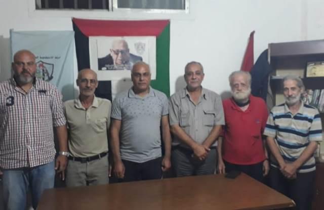 الجبهة الشعبية لتحرير فلسطين تلتقي حركة الانتفاضة الفلسطينية في بيروت