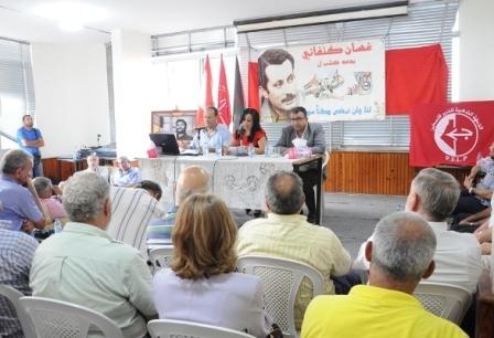 مروان عبد العال : سؤال غسان كنفاني اليوم لماذا لا نقتلع الخزان !