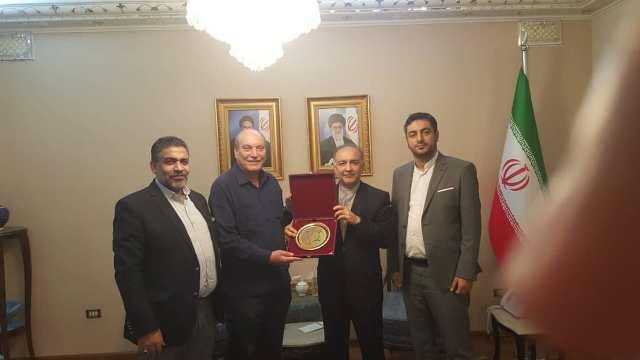 سعادة السفير الإيراني في دمشق استقبل وفدا من الجبهة الشعبية لتحرير فلسطين