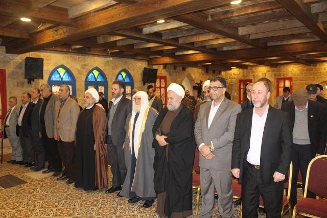 مؤتمر صحافي في أجواء ذكرى انتصار الثورة الإسلامية المباركة في إيران وذكرى الشهداء القادة في حزب الله
