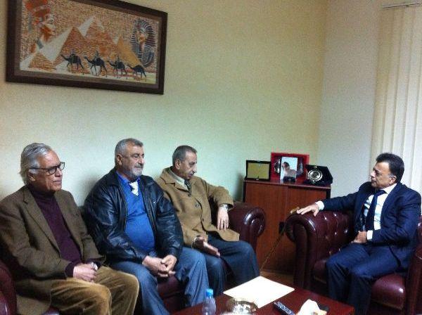 الاتحاد العام لنقابات عمال فلسطين يقوم بسلسلة جولات
