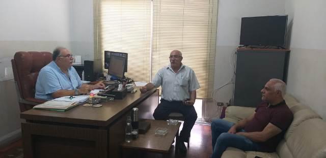 الجبهة الشعبية لتحرير فلسطين تلتقي رئيس الاتحاد الوطني لنقابات العمال والمستخدمين في لبنان