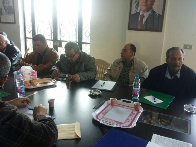 اجتماع المكتب التنفيذي لاتحاد نقابات عمال فلسطين
