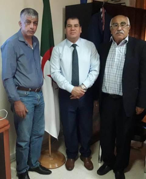 الشعبية تلتقي مستشار السفارة الجزائرية
