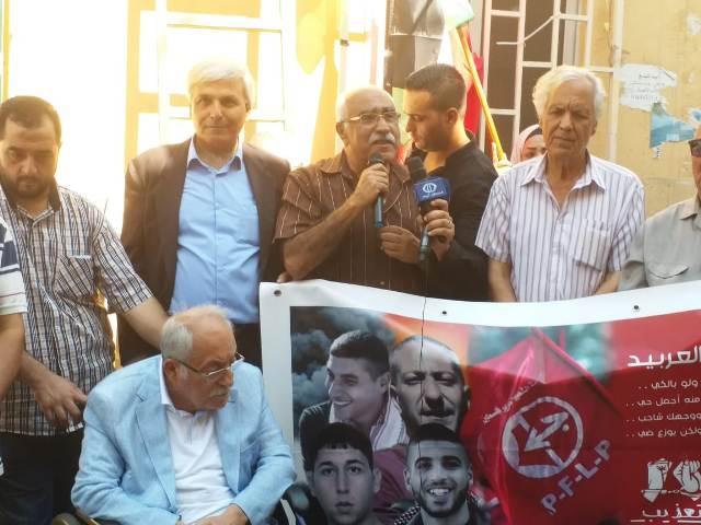 لقاء تضامني مع الأسير سامر العربيد في بيروت