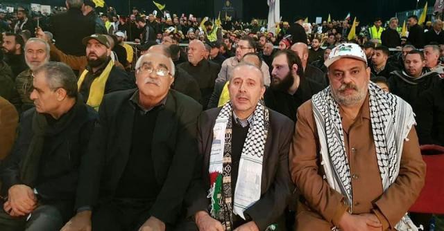 الشعبية في لبنان تشارك في حفل تأبين الشهيدين القائد قاسم سليماني وأبو مهدي المهندس