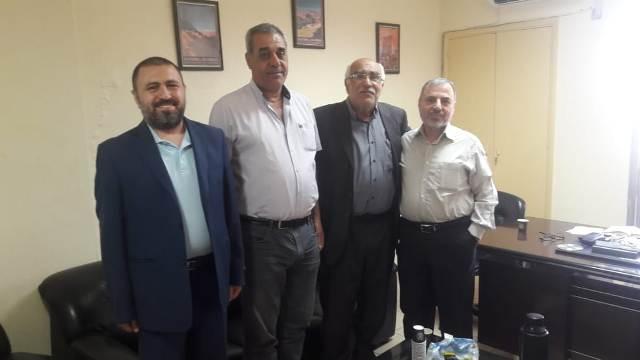 الشعبية في بيروت تزور مكتب الحزب السوري القومي الاجتماعي