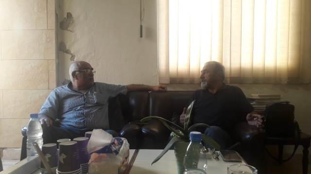 الشعبية تلتقي الحزب الديمقراطي الشعبي في بيروت