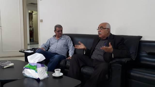 الجبهة الشعبية لتحرير فلسطين تلتقي حركة الشعب