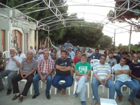 اتحاد الشباب الديمقراطي اللبناني يحيي الذكرى الخامسة والأربعين لاستشهاد غسان كنفاني