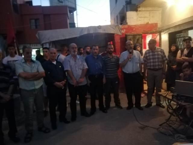 الجبهة الشعبية لتحرير فلسطين تحيي ذكرى استشهاد غسان كنفاني