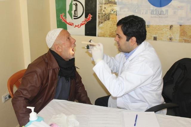 يوم صحي مجاني في مخيم الجليل