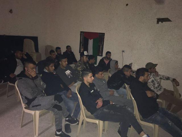 عرض فيلم وثائقي في مركز نواة-عن الشهيد باسل الأعرج في مخيم الجليل