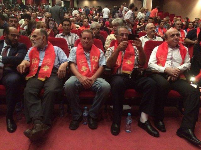 الشعبية في بيروت تشارك باحتفالات الذكرى الخامسة والثلاثين لانطلاقة جبهة المقاومة الوطنية اللبنانية