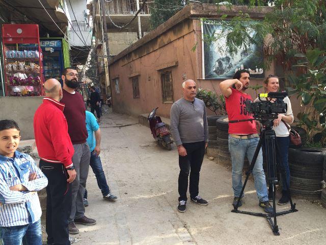 وفد من قناة الجزيرة الوثائقية زار مكتب الجبهة الشعبية لتحرير فلسطين في الشمال