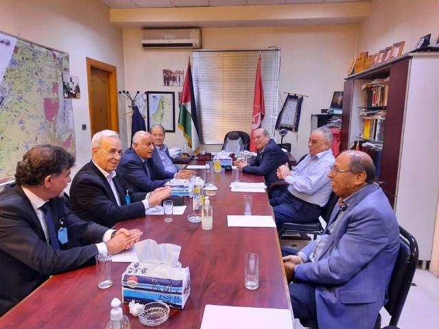 لقاء بين الشعبية وفتح في دمشق لبحث آخر تطورات المصالحة الفلسطينية