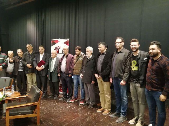 مروان عبدالعال ضيفاً  على نادي قاف  للكتاب /طرابلس