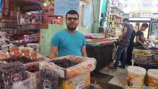 خالد يكدّ في رمضان عين الحلوة