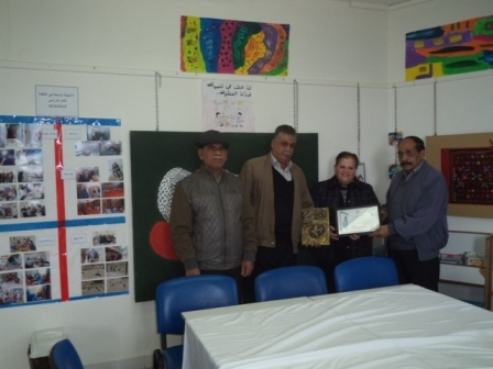 اللجان العمالية الشعبية الفلسطينية في صيدا تزورمؤسسة غسان كنفاني الثقافية