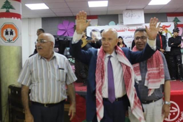 منظمة الشبيبة الفلسطينية تختتم مخيمها الثالث في البقاع الغربي