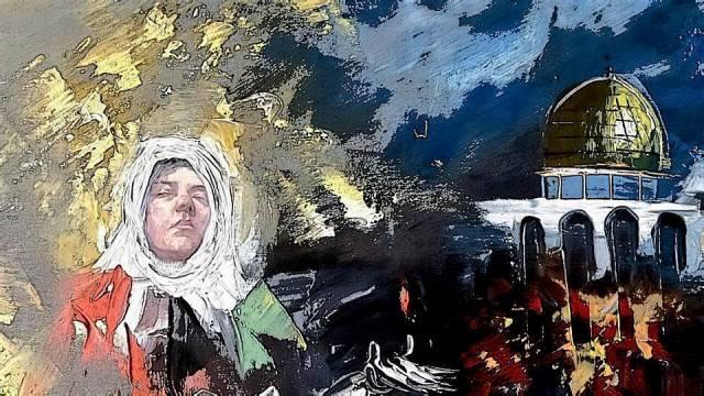 الفنان الأردني محمد تركي المسافر بوضوح بين اللون والفكرة!