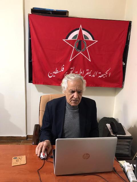 اللجان العمالية الشعبية الفلسطينية في لبنان أقامت مهرجانا افتراضيا في مخيم عين الحلوة بمناسبة الأول من أيار