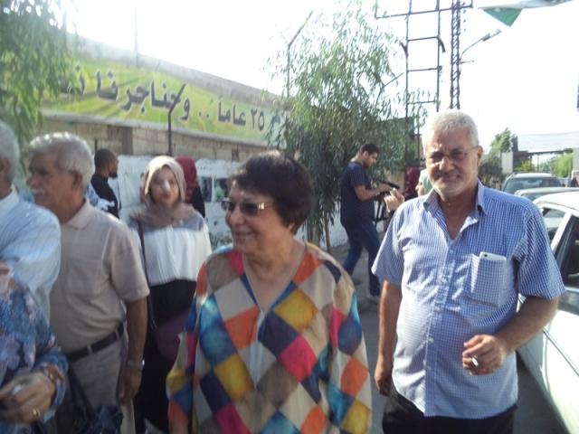 في ذكرى استشهاد ناجي العلي معرض أزقّة الفوتوغرافي في مخيم عين الحلوة