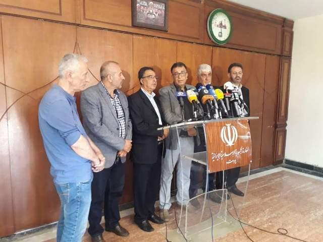 عبد اللهيان عرض ولجنة دعم المقاومة التصعيد الأميركي الأخير وأوضاع المنطقة