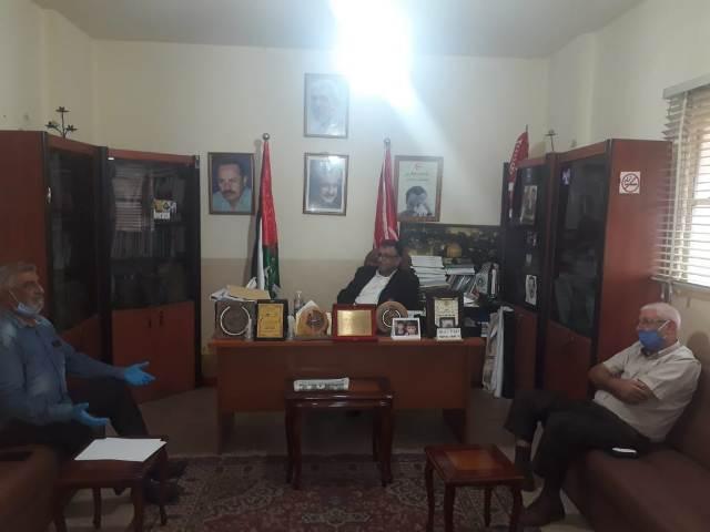 عبد العال يستقبل وفدًا من اتحاد نقابات عمال فلسطين فرع لبنان