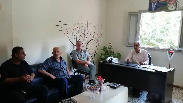 اللجان الشعبية تستضيف وفدًا من أهالي حي تل الزعتر في مخيم البداوي