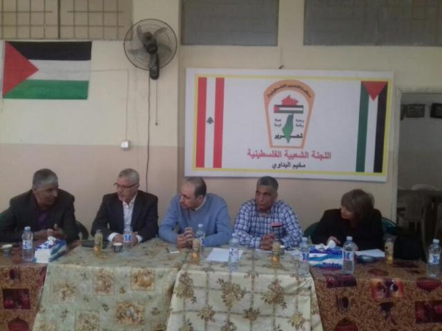 وفد لبناني - فلسطيني يزور منطقة الشمال