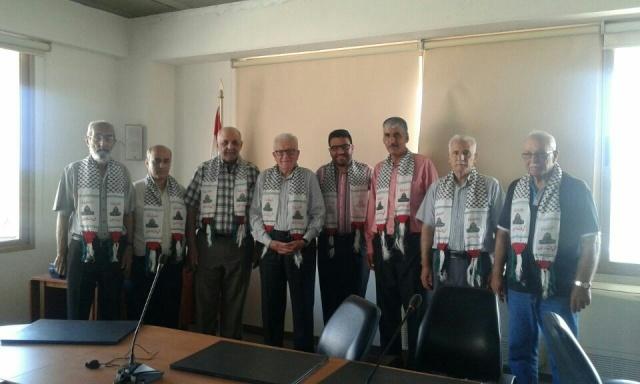 اللجان الشعبية في الشمال تزور بلدية الميناء - طرابلس