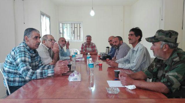 الجبهة الشعبية لتحرير فلسطين تلتقي جبهة التحرير العربية في الشمال
