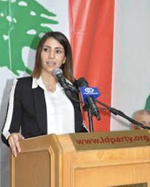 الرفيقة ليليان حمزة تقول كلمة حق بحق العمل للفلسطينيين