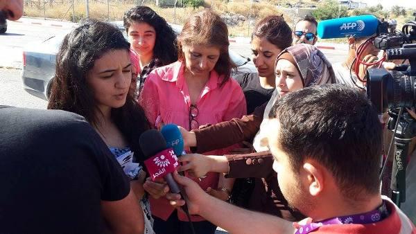 سلطات الاحتلال تفرج عن الأسيرة لينا خطاب بعد 6 شهور من الاعتقال
