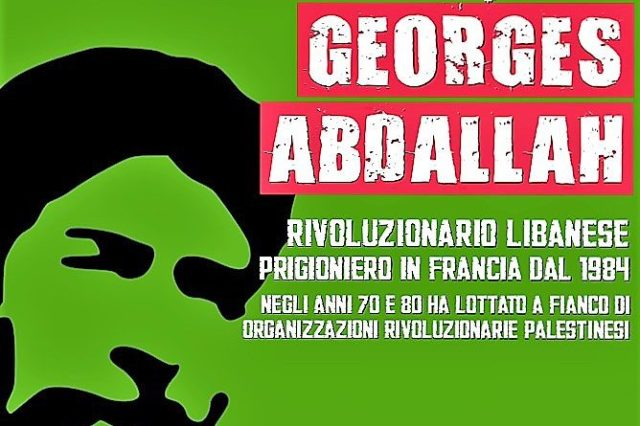 Solidarietà con il compagno Georges Abdallah – Collegamento con il FPLP in Libano