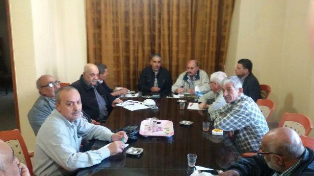 اللجنة الشعبية لمخيم نهرالبارد تناقش حاجات المخيم لمشاريع في البنية التحتية