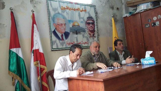 اللجنة الشعبية في مخيم عين الحلوة تزور أمين سر فصائل منظمة التحرير