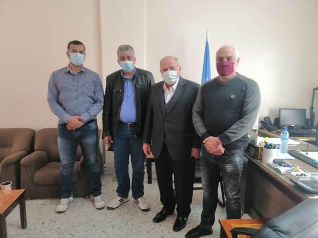 اللجنة الاجتماعية الطبية للجبهة الشعبية في لبنان تلتقي  مدير الاونروا في بيروت