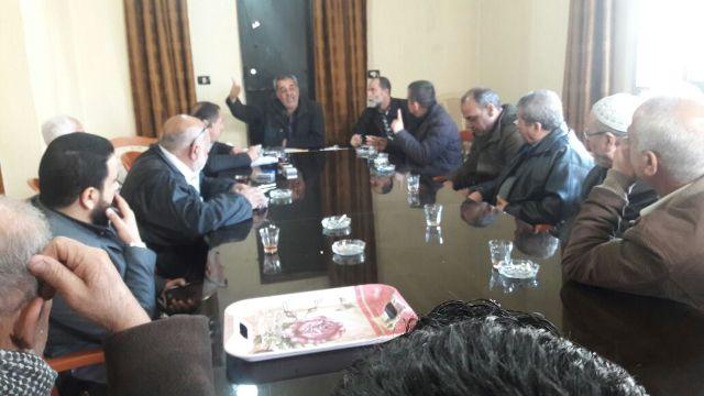 اجتماع للجنة ملف نهر البارد في مقر اللجنة الشعبية