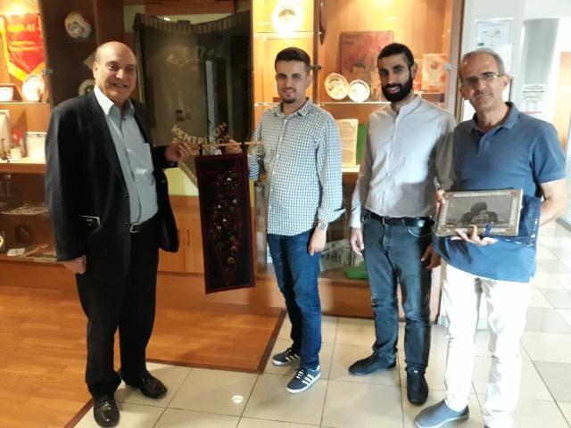 الدكتور ماهر الطاهر يلتقي مع قيادة الحزب الشيوعي القبرصي