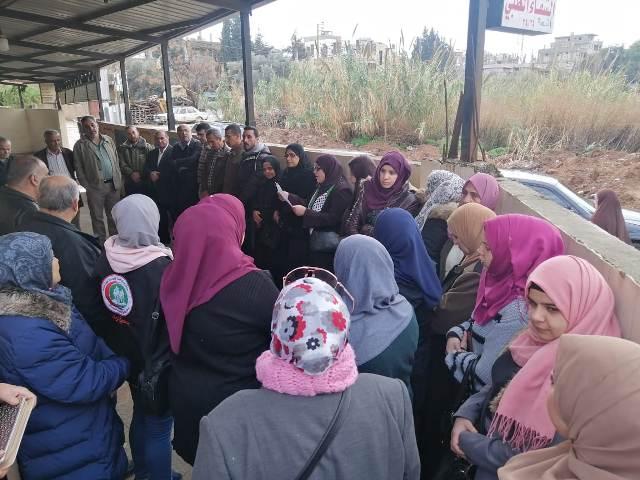 افتتاح معرض الفن والتراث الفلسطيني في نهرالبارد بمناسبة انطلاقة الجبهة الشعبية الـ52