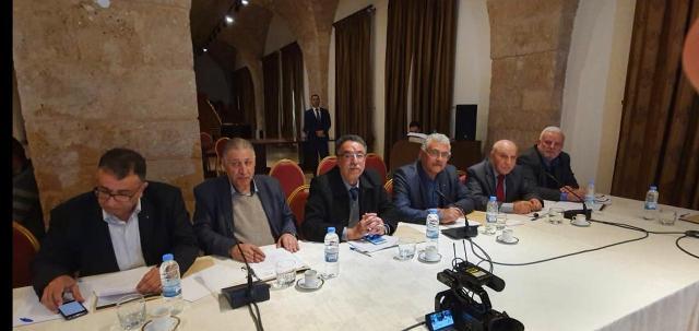 اجتماع لبناني فلسطيني في السرايا حول طروحات صفقة القرن: لمواجهتها بتحرك متناسق دوليا وفلسطينيا ولبنانيا