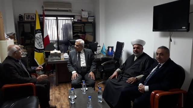 الجبهة الشعبية لتحرير فلسطين تلتقي جمعية المشاريع الخيرية الإسلامية