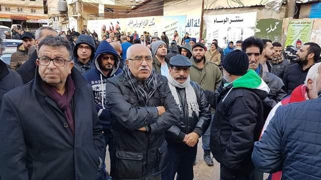 الشعبية في لبنان تشيّع الشهيد المناضل
